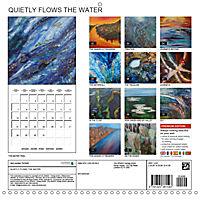 QUIETLY FLOWS THE RIVER (Wall Calendar 2019 300 × 300 mm Square) - Produktdetailbild 13