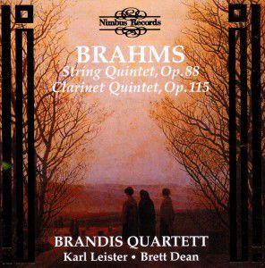 Quintets Op.88+115, Leister, Dean, Brandis Quartett