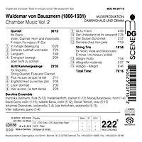 Quintett,8 Kammergesänge,Streichtro - Produktdetailbild 1