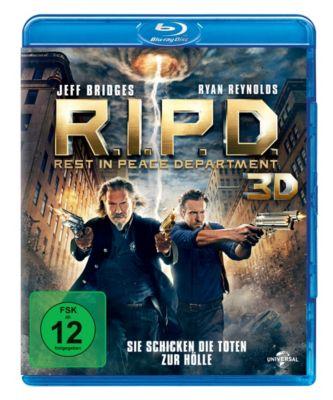 R.I.P.D.: Rest in Peace Department - 3D-Version, Ryan Reynolds,Kevin Bacon Jeff Bridges