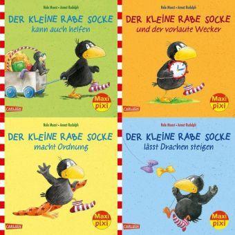Rabe Socke, 4 Hefte, Nele Moost