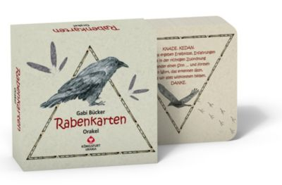 Rabenkarten, Orakelkarten - Gabi Bücker |