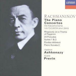 Rachmaninov: The Piano Concertos, etc., Vladimir Ashkenazy, andre Previn, Lso