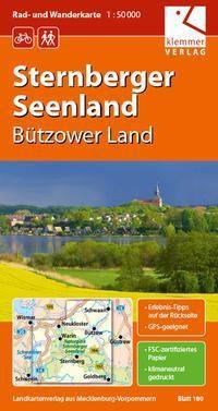 Rad- und Wanderkarte Sternberger Seenland 1 : 50 000