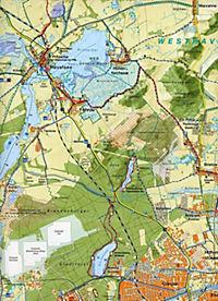 Rad-, Wander- & Gewässerkarte Havelseen - Produktdetailbild 1