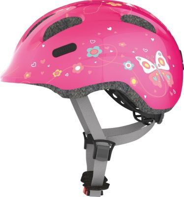 Radhelm M 50-55 Smiley pink butterfly