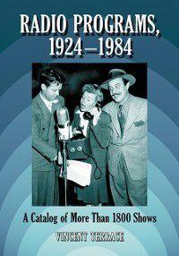 Radio Programs, 1924-1984, Vincent Terrace