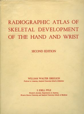 Radiographic Atlas of Skeletal Development of the Hand and Wrist, William Greulich, S. Pyle