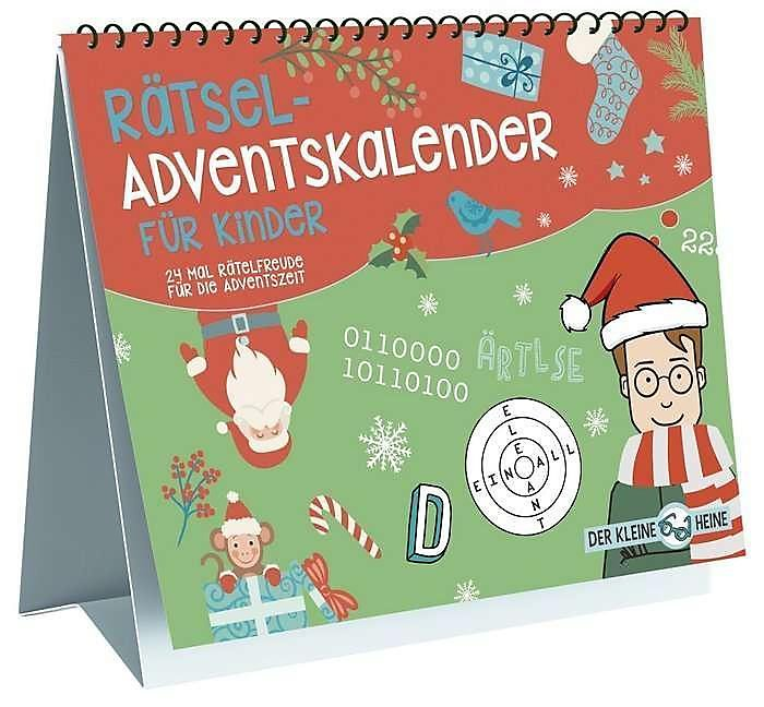 Kinder Weihnachtskalender.Rätsel Adventskalender Für Kinder Kalender Bei Weltbild De