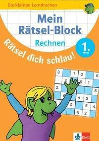 Rätsel-Block Mathe - Rechnen 1. Klasse -  pdf epub