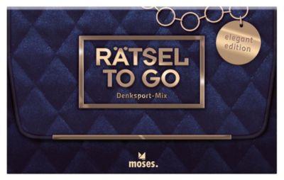 Rätsel to go Denksport-Mix: elegant Edition (Spiel) - Stefan Heine |