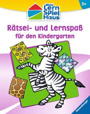 Rätsel- und Lernspaß für den Kindergarten, Anja Lohr, Christine Pätz, Britta Zimmermann