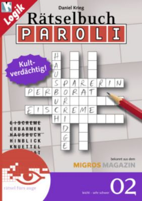Rätselbuch Paroli, Daniel Krieg
