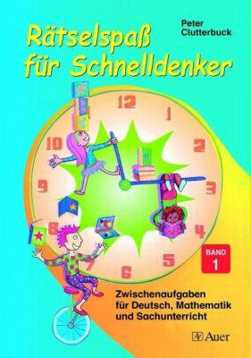 Rätselspass für Schnelldenker, Peter Clutterbuck