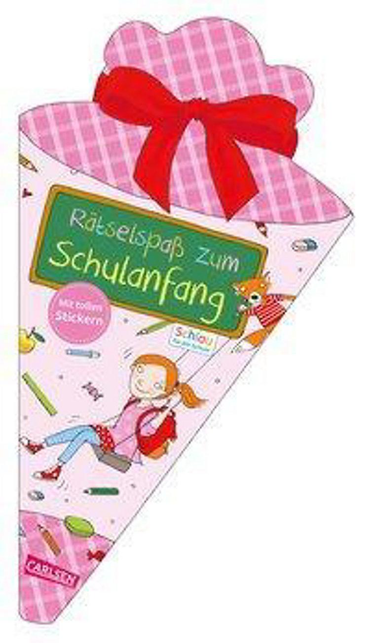 Rätselspaß Zum Schulanfang Mit Stickern Schultüte Für