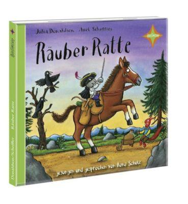 Räuber Ratte, 1 Audio-CD, Julia Donaldson, Axel Scheffler
