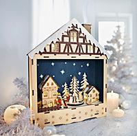 Räucherhaus mit Spieluhr - Produktdetailbild 1