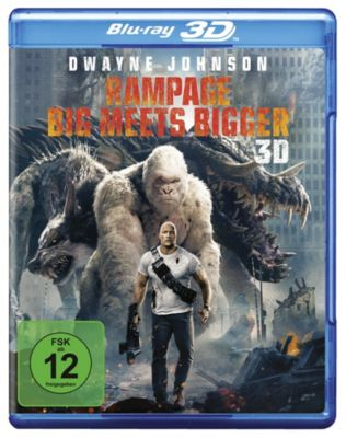 Rampage: Big Meets Bigger - 3D-Version