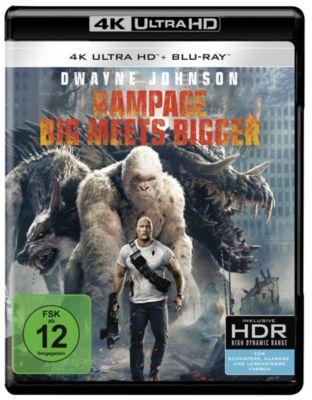 Rampage: Big Meets Bigger (4k Ultra HD)