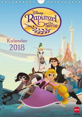 Rapunzel: Die Serie (Wandkalender 2018 DIN A4 hoch), Walt Disney