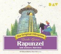 Rapunzel und weitere Märchen, 1 Audio-CD, Jacob Grimm, Wilhelm Grimm