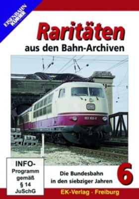 Raritäten aus den Bahn-Archiven, DVDs: Tl.6 Die Bundesbahn in den siebziger Jahren, 1 DVD
