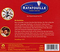 Ratatouille, 1 Audio-CD - Produktdetailbild 1