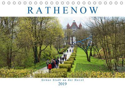 Rathenow - Grüne Stadt an der Havel (Tischkalender 2019 DIN A5 quer), Anja Frost