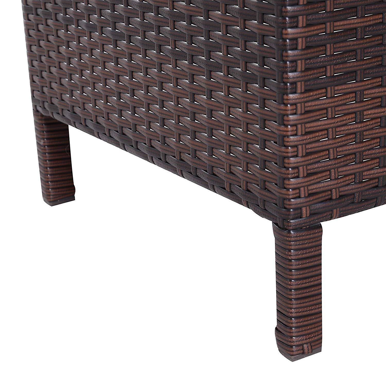 Rattan Gartentisch Als 3 Teiliges Set Bestellen Weltbild De