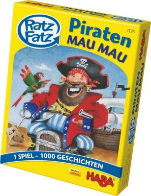 Ratz Fatz Piraten-Mau Mau (Kinderspiel)