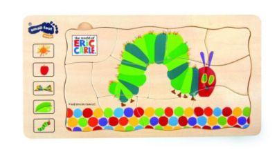 Raupe Nimmersatt Schichtenpuzzle (Kinderpuzzle), small foot
