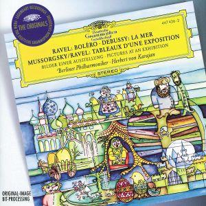 Ravel: Boléro / Debussy: La Mer / Mussorgsky: Pictures at an Exhibition, Herbert von Karajan, Bp