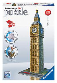 "Ravensburger ""3D Puzzle Big Ben"", 216 Teile - Produktdetailbild 1"