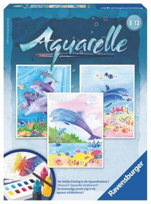 Ravensburger - Aquarelle Delfine, 3er-Set