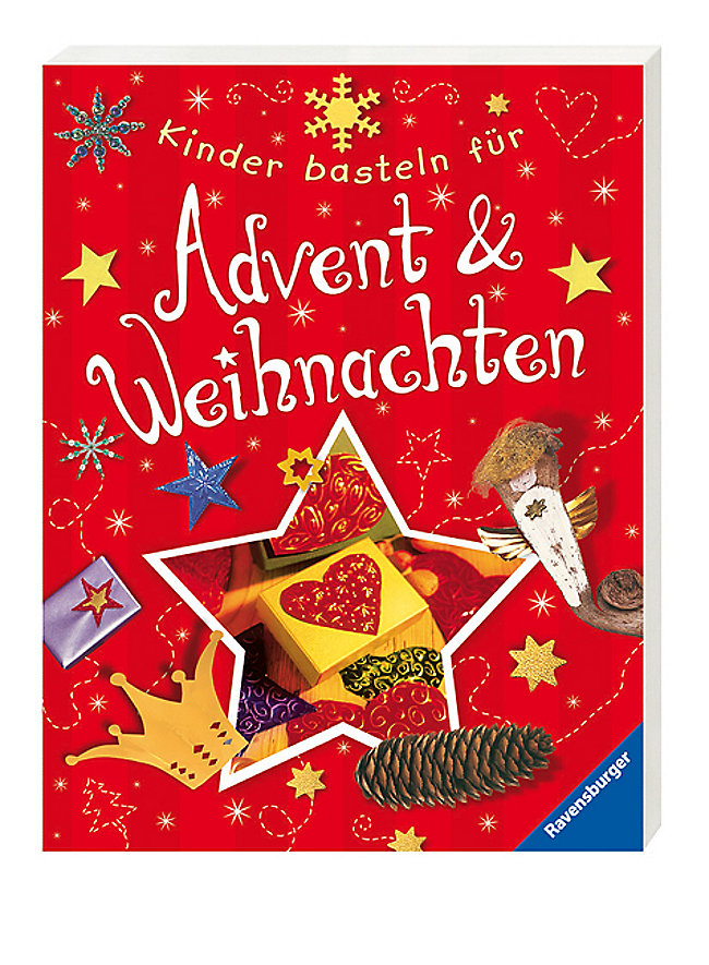 ravensburger kinder basteln f r advent weihnachten buch. Black Bedroom Furniture Sets. Home Design Ideas