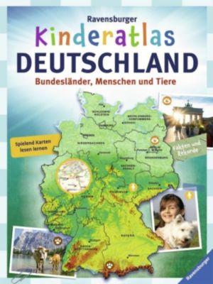 Ravensburger Kinderatlas Deutschland, Andrea Schwendemann