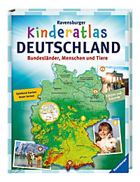 Ravensburger Kinderatlas Deutschland - Produktdetailbild 1
