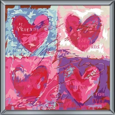Ravensburger - Malen nach Zahlen Herzliche Grüße, 20 Farben