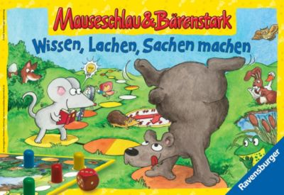 Ravensburger Mauseschlau & Bärenstark: Wissen. Lachen, Sachen machen