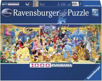 Ravensburger Puzzle Disney Gruppenfoto, 1000 Teile Panorama