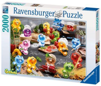 Ravensburger Puzzle - Gelinis Küche, kochen..., 2000 Teile