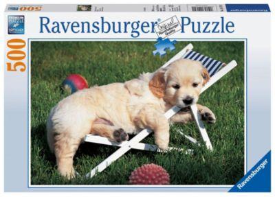 Ravensburger Puzzle Golden Retriever, 500 Teile