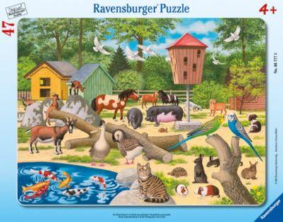 Ravensburger Puzzle. Im Streichelzoo. 47 Teile