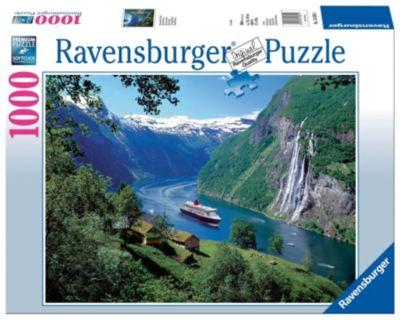 Ravensburger Puzzle Norwegischer Fjord, 1.000 Teile