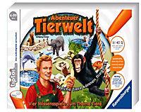 """Ravensburger tiptoi® - """"Abenteuer Tierwelt"""", Lernspiel - Produktdetailbild 1"""