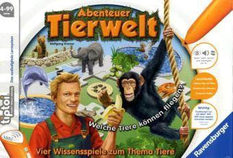 Ravensburger tiptoi® - Abenteuer Tierwelt, Lernspiel, Wolfgang Kramer