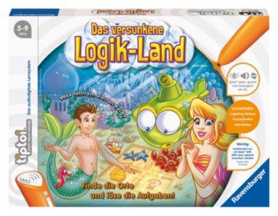 Ravensburger tiptoi® - Das versunkene Logik Land, Kinderspiel