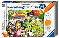 "Ravensburger tiptoi® - ""Der Ponyhof"", Kinderpuzzle, 100 Teile - Produktdetailbild 1"