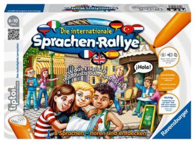 Ravensburger tiptoi® - Die internationale Sprachen-Rallye, Lernspiel