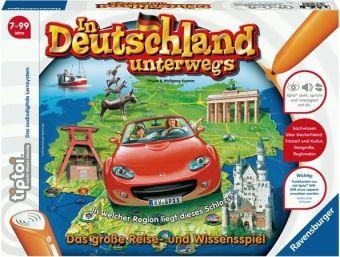 Ravensburger tiptoi® - In Deutschland unterwegs, Lernspiel
